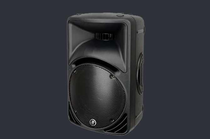 Mackie SRM450 active full-range loud speaker